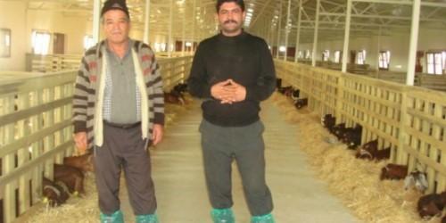 Çiftliğimize Gelen Ziyaretçiler